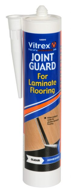 Vitrex Joint Guard For Laminate Flooring – Clear